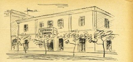 Η «Μεγάλη οικία» Βούρου, στην πλατεία Κλαυθμώνος.