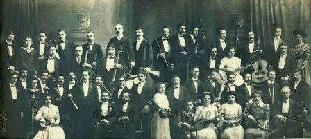 Η Αθηναϊκή Μαντολινάτα. Φωτογραφικό Αρχείο Αθηναϊκής Μαντολινάτας - Οικογένεια Λάβδα.