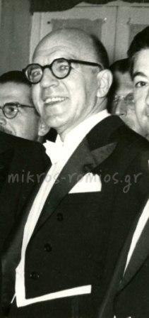 O νομικός Παναγιώτης Σιφναίος (1904-1979). Μεταπολεμικά διετέλεσε Γενικός Διευθυντής Ραδιοφωνίας, βουλευτής και τρεις φορές υπουργός, την τελευταία στην Κυβέρνηση Μαρκεζίνη.