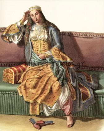 Αθηναία αρχόντισσα, Ο.M.v. Stackelberg.