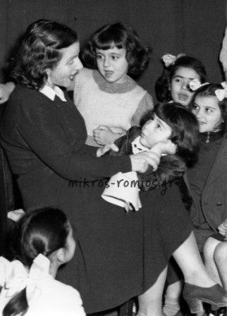 Θεία Λένα (Αντιγόνη Μεταξά), 1948.