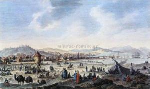 Άποψη της Σμύρνης, τέλη 18ου αιώνα.